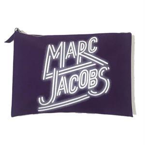 MARC JACOBS【 スケートジョン】クラッチバッグ パープル 買い付け商品