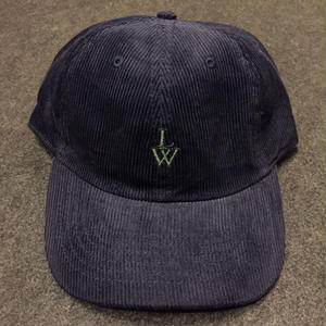 LUCKYWOOD【 ラッキーウッド】CORDUROY CAP  NAVY  帽子 キャップ ネイビー