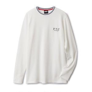 FTC【 エフティーシー】STRIPE RIB THERMAL サーマルシャツ ホワイト