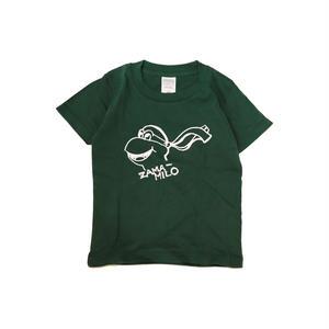 LUCKYWOOD【 ラッキーウッド】ZAMA-MILO KIDS TEE キッズ Tシャツ アイビーグリーン