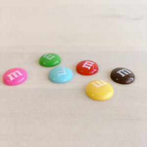 luxury nail Original Select Marking Parts【colorful happy chocolate6色1セット 】