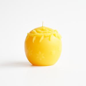 fir ball candle