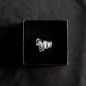moe / 閃(ひらめく) ring - シルバー - 01