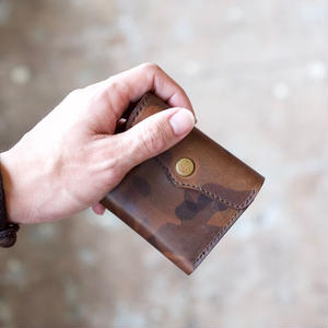 <Last 1> SARANAM / 三つ折り財布-迷彩