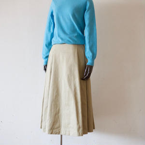 < Last 1 > Tailor the Dress / Tuck Volume Skirt - Beige