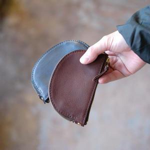 Leather Wallet /  Halfmoon