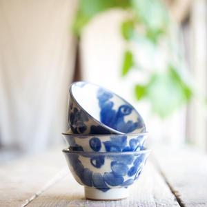 ノモ陶器製作所 / マカイ4寸花唐草