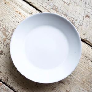 藤山窯 / 6寸反皿 - ミルク - プレーン