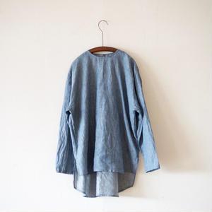 Cul de Sac / リネン ストライププルオーバーシャツ