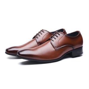 【Jo Marino】 高品質 日本製 ビジネスシューズ 本革 メンズ 革靴 紳士靴 MADE IN JAPAN-6611-BROWN