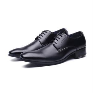【Jo Marino】 高品質 日本製 ビジネスシューズ 本革 メンズ 革靴 紳士靴 MADE IN JAPAN-6611-BLACK