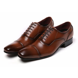 【Jo Marino】 高品質 本革 メンズ 革靴 ビジネスシューズ 紳士靴 防滑 撥水アッパー 高反発インソール 3E 多機能-778-BROWN