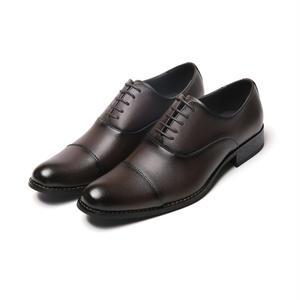 【Jo Marino】 高品質 日本製 ビジネスシューズ 本革 メンズ 革靴 紳士靴 MADE IN JAPAN-1183-DARK.BROWN