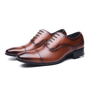 【Jo Marino】 高品質 日本製 ビジネスシューズ 本革 メンズ 革靴 紳士靴 MADE IN JAPAN-6610-BROWN