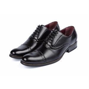 【Jo Marino】 高品質 日本製 ビジネスシューズ 本革 メンズ 革靴 紳士靴 MADE IN JAPAN-1182 -BLACK