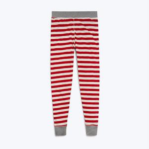 SLEEPY JONES // Helen Legging Red Slub Stripe