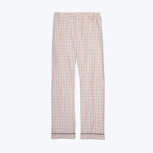 SLEEPY JONES // Marcel Pajama Pant Tattersall Check