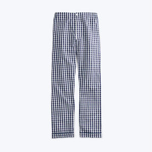 SLEEPY JONES // Marcel Pajama Pant Navy Gingham