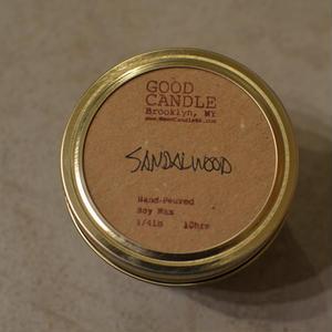 GOOD CANDLE // SANDALWOOD