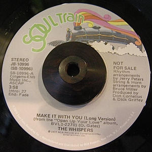 THE WHISPERS / MAKE IT WITH YOU