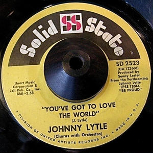 JAZZ45*JOHNNY LYTLE/YOU'VE GOT TO LOVE THE WORLD