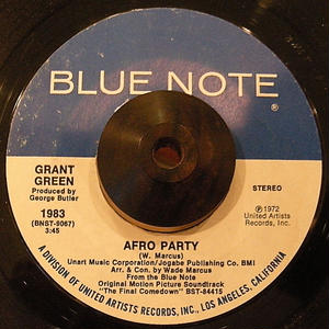 GRANT GREEN / AFRO PARTY