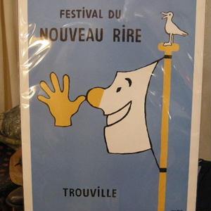 フランス製、レイモン、サヴィニャックのポスター  no,6
