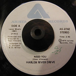 HARLEM RIVER DRIVE / NEED YOU