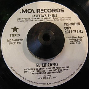 LATIN FUNK45 EL CHICANO / BARETTA'S THEME