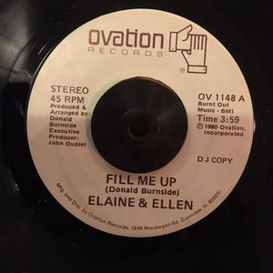 ELAINE&ELLEN / FILL ME UP