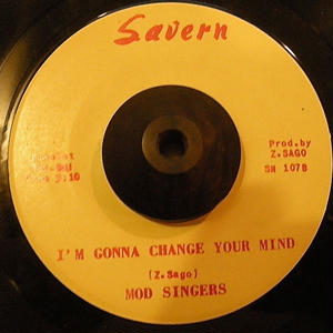 MOD SINGERS / I'M GONNA CHANGE YOUR MIND