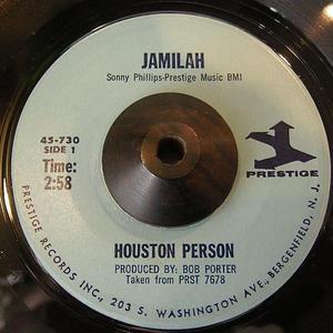 JAZZ FUNK45  HOUSTON PERSON / JAMILAH
