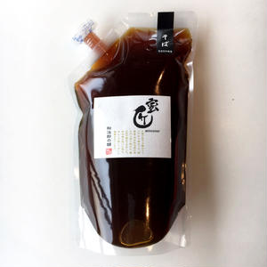 国産蜂蜜 -蜜匠シリーズ-  「そば」エコパック 1,000g