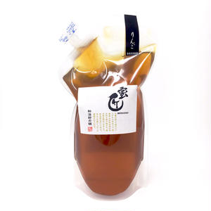 国産蜂蜜 -蜜匠シリーズ- 「りんご」1000g (エコパック)