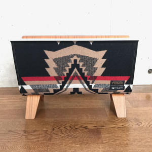 PENDLETON×MB7r MAGAZINE RACK  TEAK OVER ALL BLACK