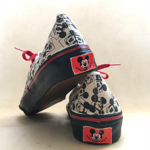 Deadstock 1990年代 アメリカ製 VANS AUTHENTIC Mickey Mouse  size Womens 10