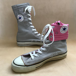 Deadstock 1980年代 アメリカ製 CONVERSE NEE HI ALL STAR GRAYxPINK size 11