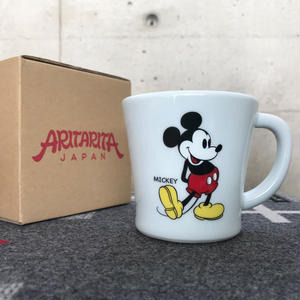"【MADE BY SEVEN -REUSE-  Archives 2014年】 ARITARITA SMOOTH MUG ""1930s Mickey"""