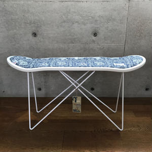 "reyn spooner×MB7r SKATE DECK STOOL WHITE ""LAHANINA SAILOR GRAY"""