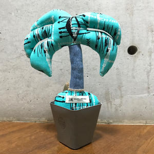 "MOOKIE SATO×MB7r LITTLE PLANTS PALM TREE ""BLUE"""