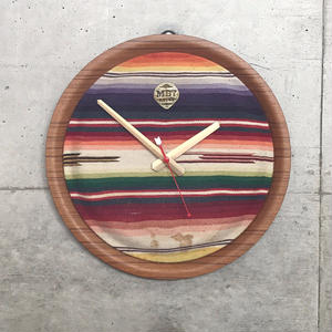 MB7r VINTAGE BLANKET WALL CLOCK
