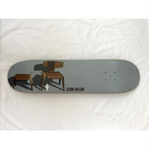 "2001年製 GIRL SKATEBOARDS The Modern Chair series SKATE DECK ""Child's Chair"". Designed by Tony Larson."