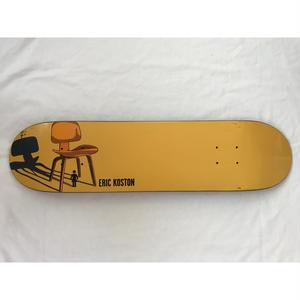 """2001年製 GIRL SKATEBOARDS The Modern Chair series SKATE DECK """"DCW"""". Designed by Tony Larson."""