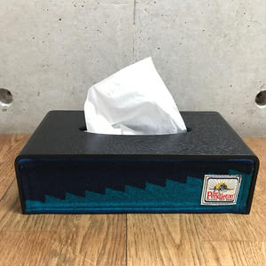 "PENDLETON×MB7r  TISSUE COVER  BLACK ""Surf Pendleton"""