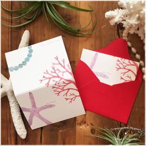 ALOHAメッセージカード