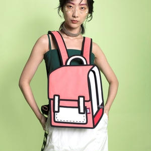 【Jump From Paper】JFP159  バックパック(小) Color Me In Collection / Junior Spaceman 正規輸入品