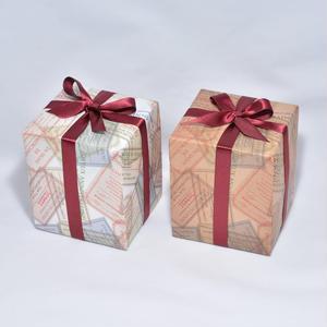 包装紙(フレンチチケット)&リボン