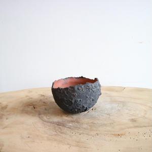 たけろうポット   コクコク ちぎり  ボウルSSB (赤土) φ7.5cm