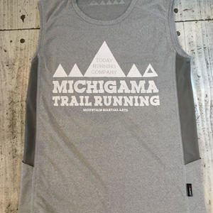 MMA×MICHIGAMA TRAIL RUNNING Sleeve-less