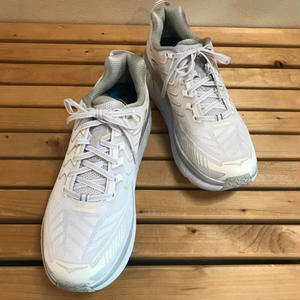 HOKA ONE ONE / CLIFTON 4 (MEN'S) WHITE